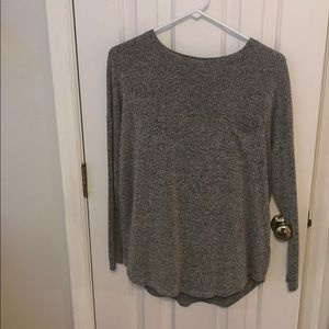 Grey and white mix sweater from old navy